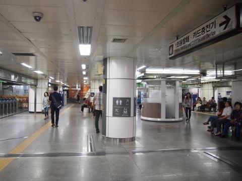 〔韓国〕ソウル地下鉄2号線 ソウル大入口
