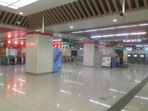 〔中国〕無錫地下鉄1号線 無錫火車駅