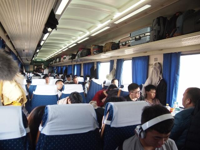 中国鉄道旅行記2020 1・2日目